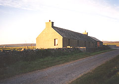 Hall of Clestrain Cottage